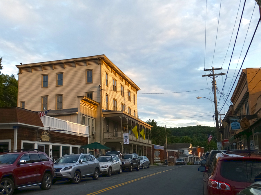 The Old Hotel, Narrowsburg NY