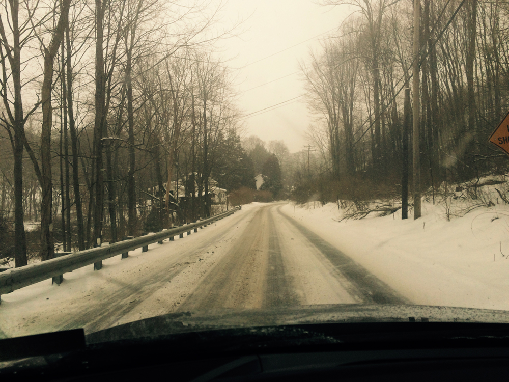 While the roads are still navigable
